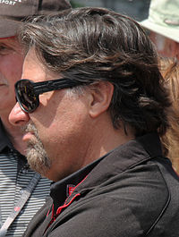 Michael Andretti at Carb Day 2015 at the Indianapolis 500 - Sarah Stierch.jpg