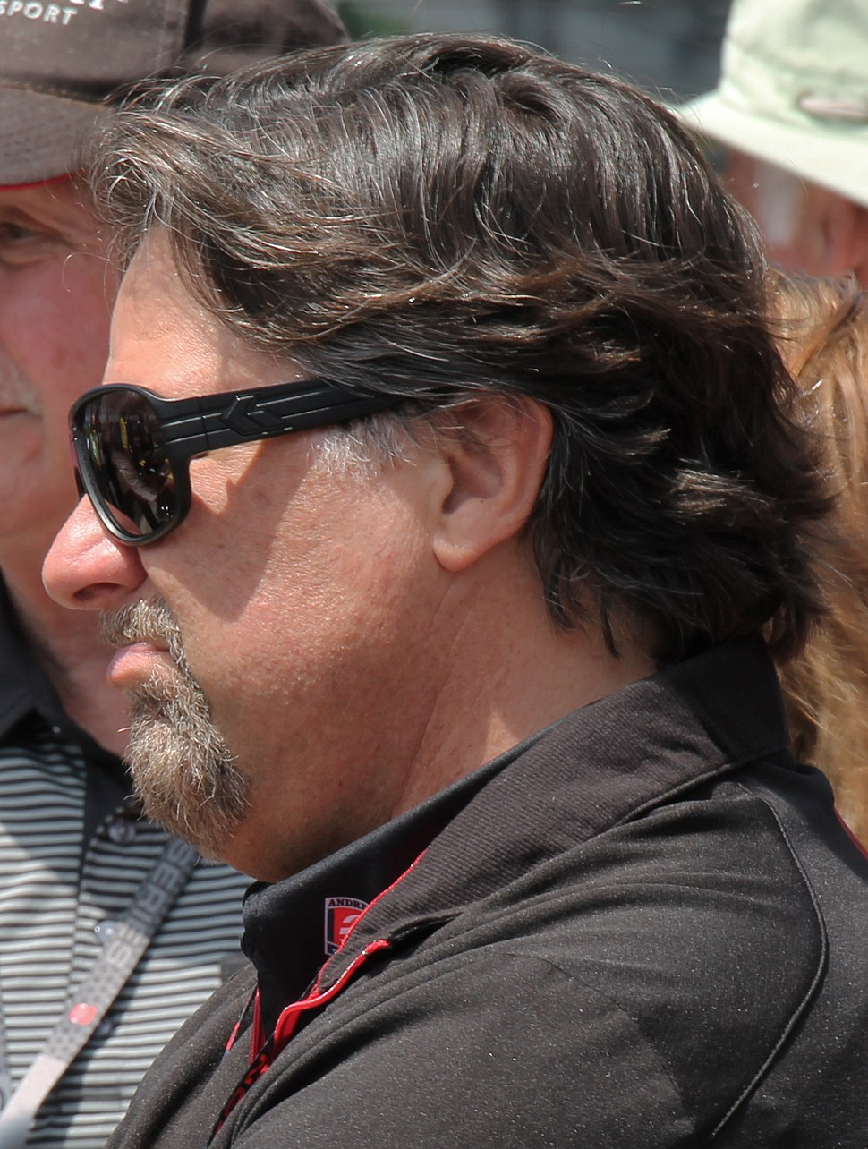 Michael Andretti at Carb Day 2015 at the Indianapolis 500 - Sarah Stierch