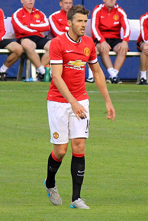 Michael Carrick - Carrick playing in a pre-season friendly in July 2015