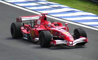 2006 Brazilian Grand Prix - A puncture deflated Michael Schumacher's race chances, but he fought back to finish fourth.
