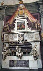 Michelangelo's grave.jpg