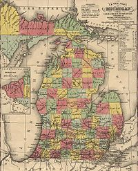 Michigan in 1853