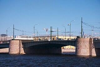 Tuchkov Bridge bascule bridge