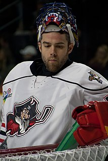 Mike McKenna (ice hockey) American professional ice hockey goaltender