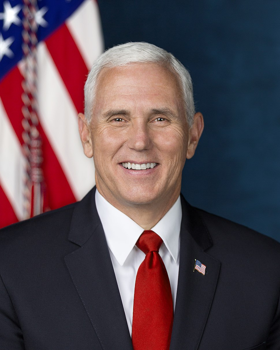 Mike Pence official Vice Presidential portrait