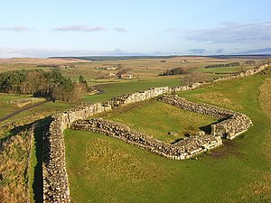 Milecastle 42 - The remains of Milecastle 42
