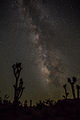 Milky Way - Taken from Mojave National Preserve, CA - 6 Aug. 2013.jpg