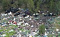 Millican Cliffs illegal dump site in the Prineville area.jpg