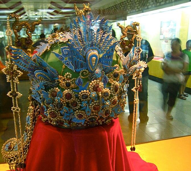 File:Ming Dynasty phoenix crown.jpg
