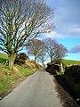Minor Road Near Kirkton (The Nick) - geograph.org.uk - 354742.jpg
