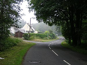 Minor Road Passes By Glentrool Village - geograph.org.uk - 210890.jpg