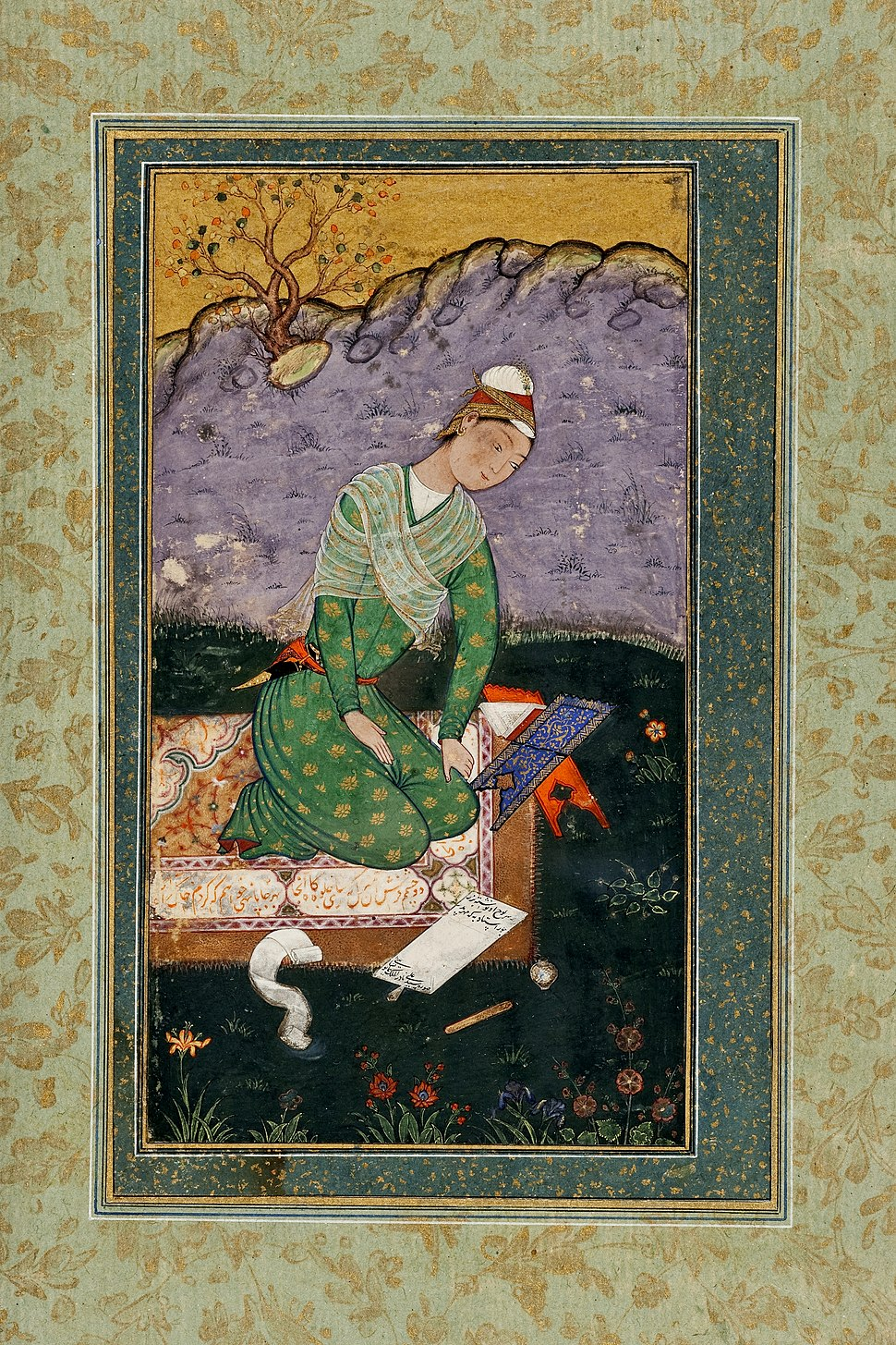 Mir Sayyid Ali - Portrait of a Young Indian Scholar