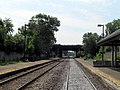 Mishawum station facing Route 128.JPG