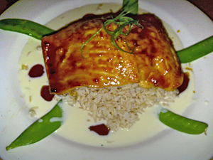The Cheesecake Factory - The Cheesecake Factory's Miso Salmon