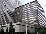 Fuji Bank Head Office in Tokyo, now Mizuho Financial Group Headqaurters