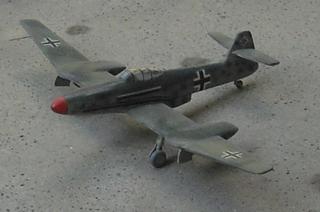 Blohm & Voss BV 155 German fighter prototype