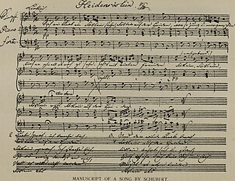 "Heidenröslein - Schubert's ""Heidenröslein"""