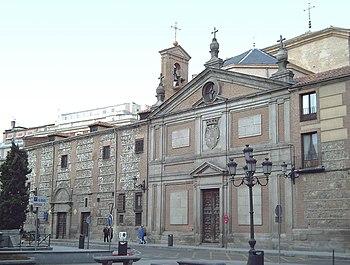 Fachada del Monasterio de las Descalzas Reales.
