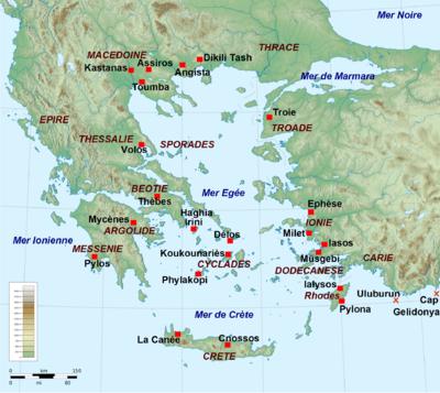 Crete Carte Geographique Monde.Civilisation Mycenienne Wikipedia