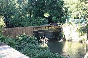 Monocacy Creek (Lehigh River) - Image: Monocacy Creek aqueduct in Bethlehem, PA 05