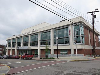 Monongalia County, West Virginia - New Monongalia County Justice Center in 2017