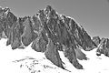 Mont Blanc du Tacul east face, 2010 July, bw.JPG