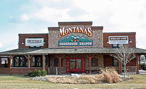 Montana's BBQ & Bar - Image: Montanas Cookhouse
