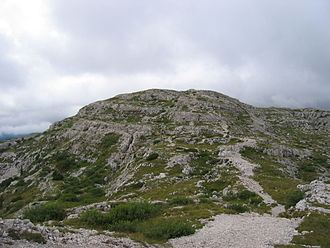 Battle of Mount Ortigara - Mount Ortigara summit