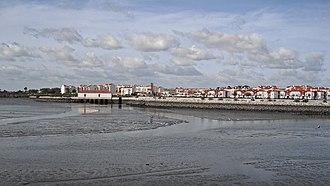 Montijo, Portugal - Image: Montijo Panorama 2013 11 09