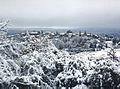 Montmeyan - Sous la neige 21Déc2001.jpg