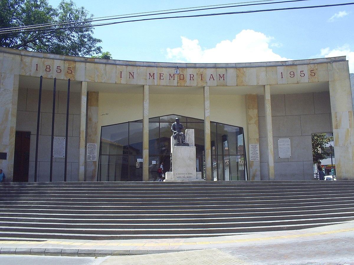 Monumento a Marco Fidel Suárez - Wikipedia, la enciclopedia libre