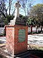 Monumento a los miembros del Batallón de San Patricio inhumados en la iglesia parroquial de Tlacopac, México. D.F.JPG