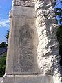 Monumentul Eroilor căzuţi în primul război mondial din Tâncăbești - lista eroilor.JPG