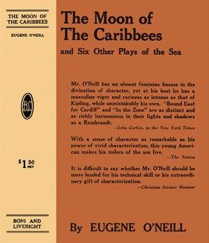 In the Zone (play) - First edition printing (1919) of one-act plays including In the Zone