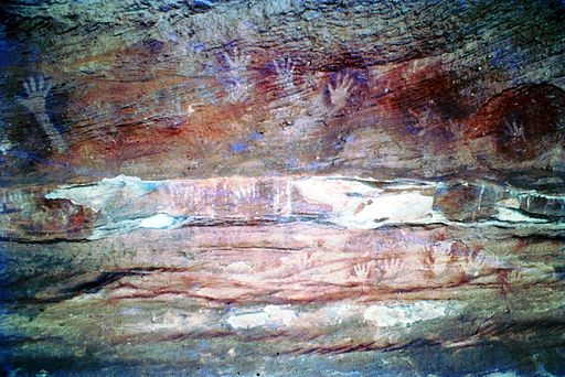 Mootwingie rock art - Mutawintji National Park