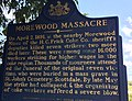 Morewood Massacre historical marker Pennsylvania No. 2.jpg