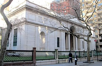 Morgan Library & Museum - The historic McKim Building