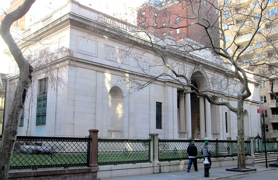 Morgan Library McKim Building from west