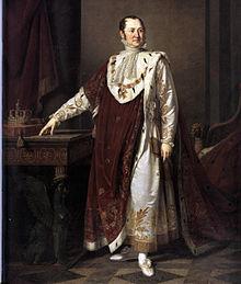 König Max I. Joseph im Krönungsornat, Gemälde von Moritz Kellerhoven (Quelle: Wikimedia)