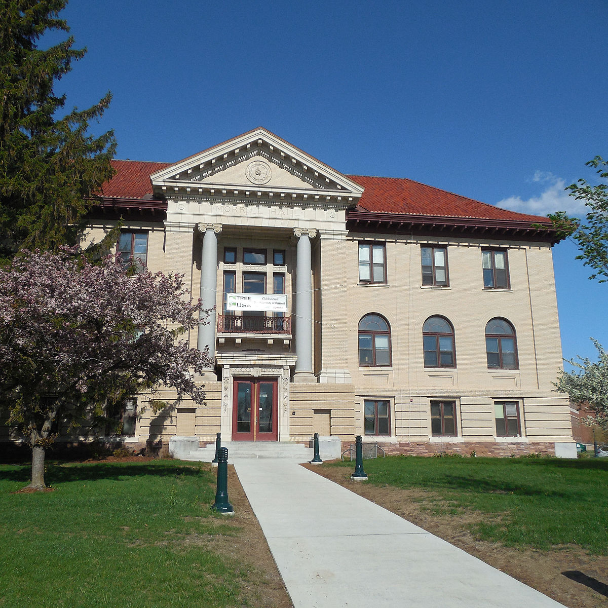 Morrill Hall (University of Vermont) - Wikipedia
