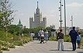 Moscow, Zaryadye Park. View to Kotelnicheskaya Embankment Building.jpg