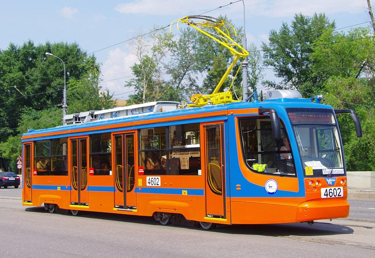 71-623 (трамвайный вагон) — Википедия