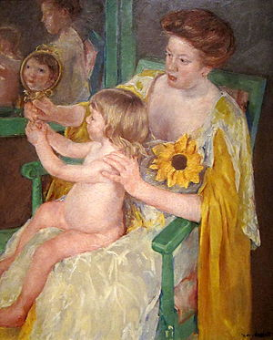 Mother and Child, Mary Cassatt, Mother's Day, Loss, Memorial