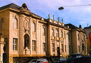 Mozarteum University of Salzburg - Exterior of Mozarteum