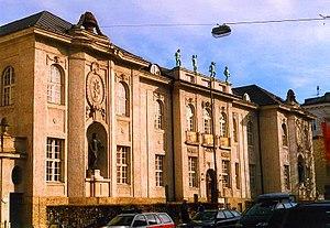 Mozarteum University of Salzburg - Exterior of Mozarteum
