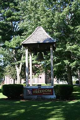 Mt. Morris, IL Illinois Freedom Bell 01.JPG
