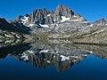 Mt Banner and Mt Ritter and Garnet Lake in California.jpg