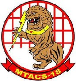 Marine Tactical Air Command Squadron 18 - Old MTACS-18 insignia