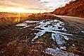 Muddy side of the road during sunset (Unsplash).jpg