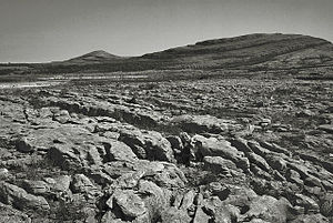 Mullaghmore, County Clare - Mullaghmore hill (right)